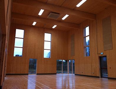 fenton's hall inside