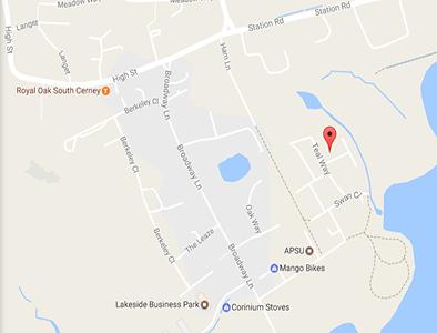 fenton's south cerney map