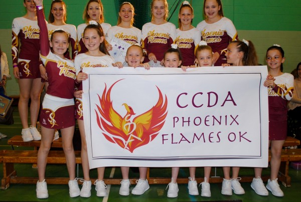 CCDA Cheerleading Group Cirencester