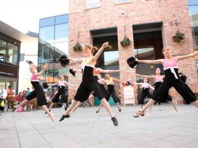 Intermediates at Regent Arcade Cheltenham for Fame Day