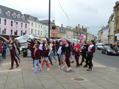Race for Life Cancer Flashmob