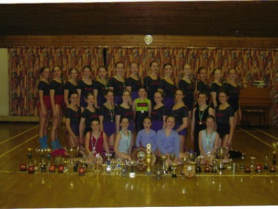 Trophies & Medals won by CCDA Competition groups