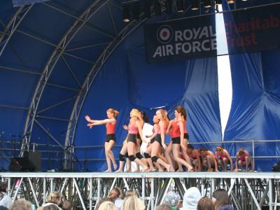 Royal Air Tattoo Fairford - Seniors in End Dance